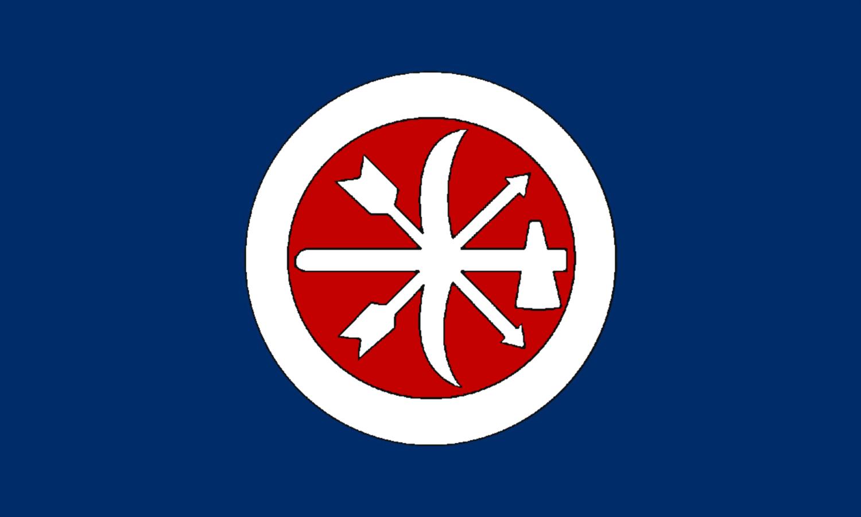 Choctaw Braves Flag