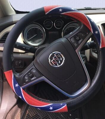 Battle Flag Steering Wheel Cover