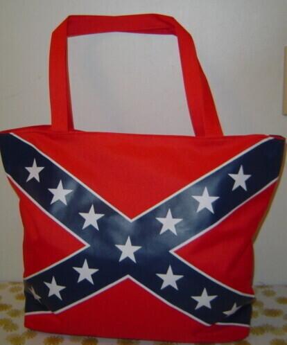 Battle Flag Beach Tote Bag