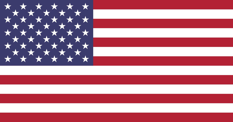 American Flag - Rectangle Sticker