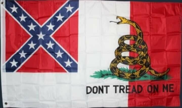 3rd National Flag w/ Gadsden Snake