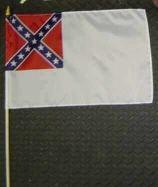 2nd National Gravesite Stick Flag
