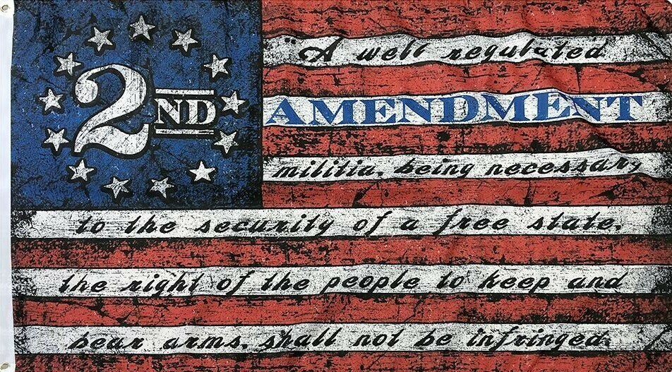 2nd Amendment United States Flag