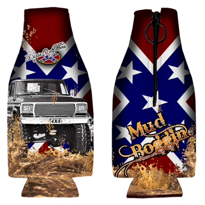 Mud Boggin Bottle Coozie by Dixie Outfitters®
