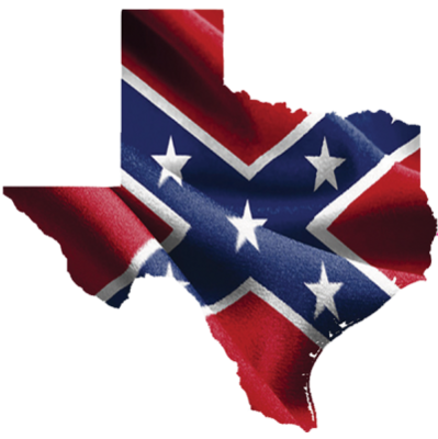 Confederate Texas Sticker by Dixie Outfitters®