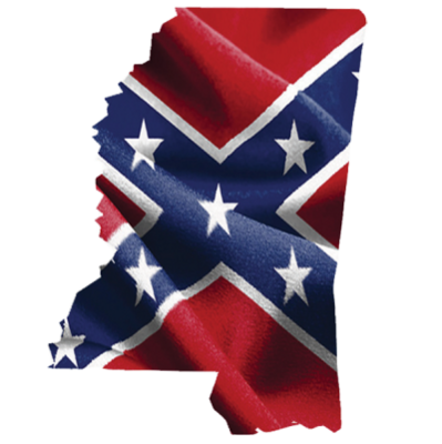 Confederate Mississippi Sticker by Dixie Outfitters®