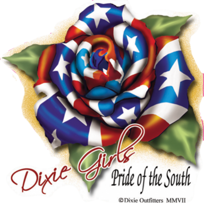 Dixie Girls Pride Of South Sticker by Dixie Outfitters®