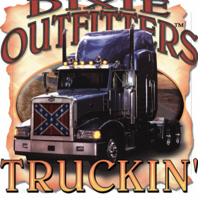 Truckin Sticker by Dixie Outfitters®