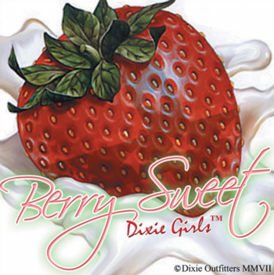 Berry Sweet Sticker by Dixie Outfitters®