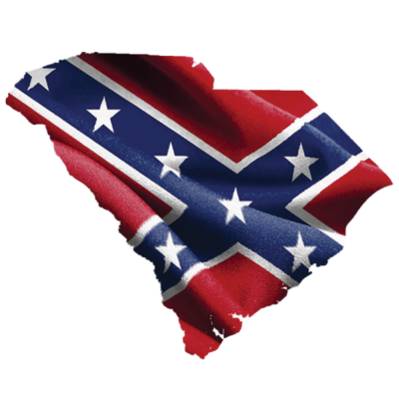 Confederate South Carolina Sticker by Dixie Outfitters®