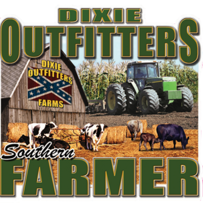 Farmer Sticker by Dixie Outfitters®