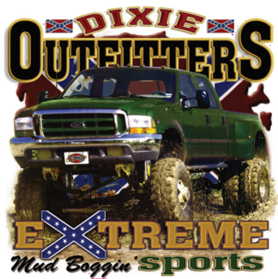 Mud Boggin Sticker by Dixie Outfitters®