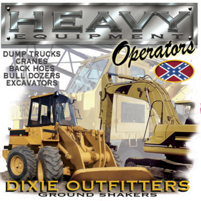 Heavy Equipment Op Sticker by Dixie Outfitters®