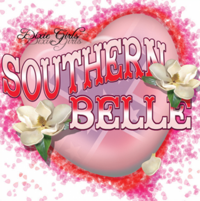 Southern Belle Sticker by Dixie Outfitters®