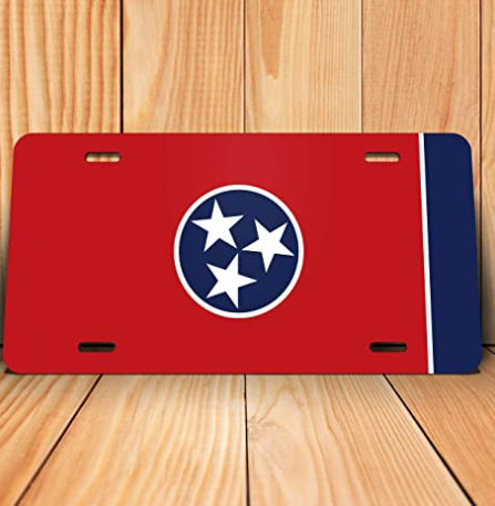 Tennessee State License Plate