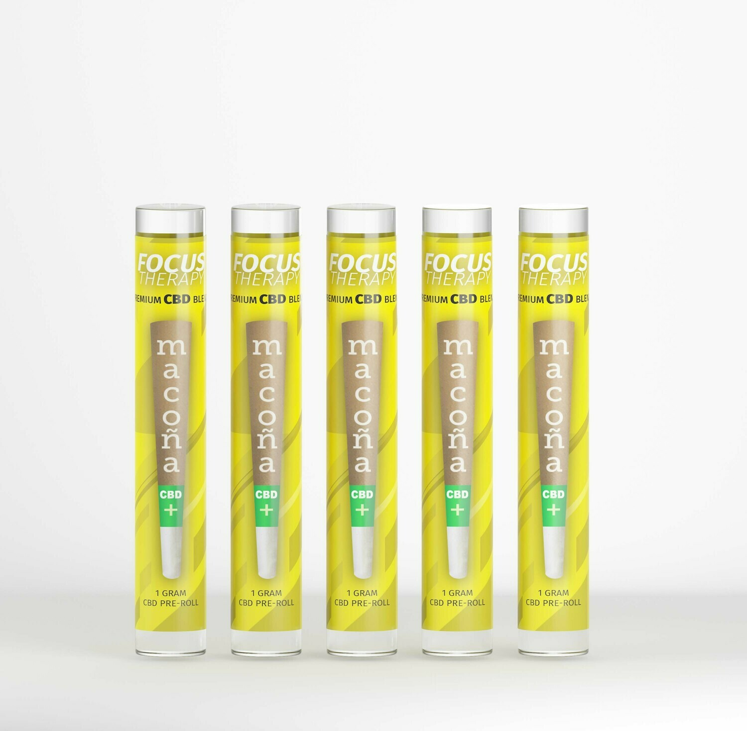 Focus THERAPY CBD Pre-Roll (5 Packs)