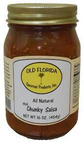 Salsa Chunky Mild Old Florida 16oz. LOCAL