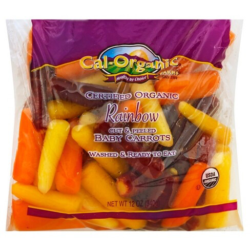 Carrots Baby Rainbow ORGANIC 12 oz. bag
