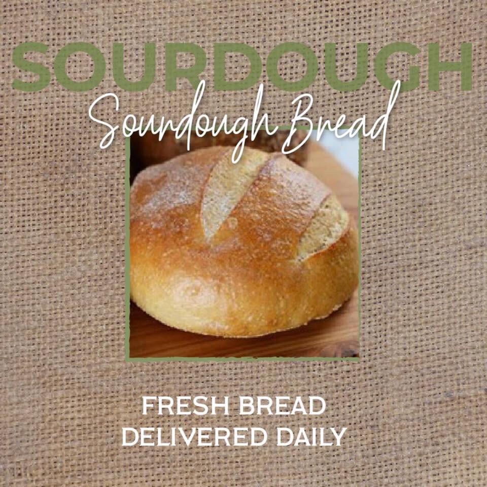 Bread Sourdough Round LOCAL