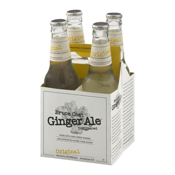 Ginger Ale Bruce Cost 4 pack