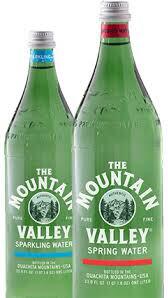 Water Mt. Valley 1 Liter Sparkling