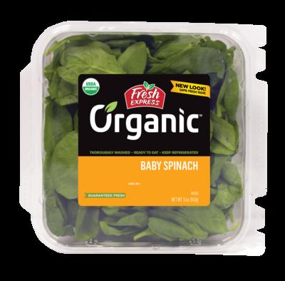 Greens Spinach Baby ORGANIC