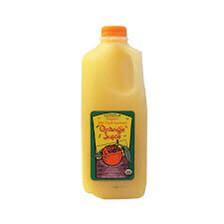 Juice Orange Kennesaw 1/2 Gallon LOCAL ORGANIC