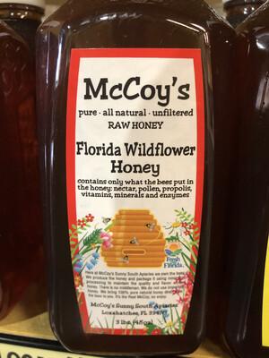 Honey McCoy's 3 lb. Wildflower LOCAL