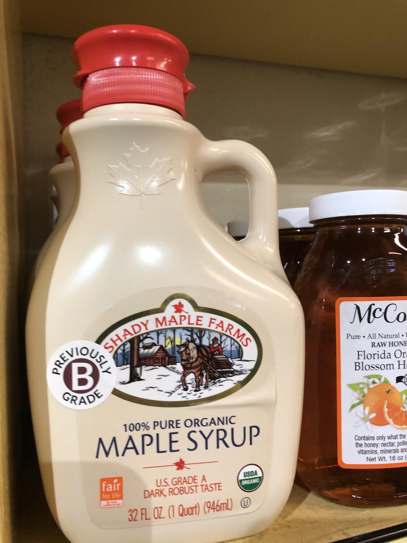 Syrup Maple 32 Oz. ORGANIC