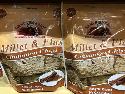 Samis Chips Millet & Flax Cinnamon