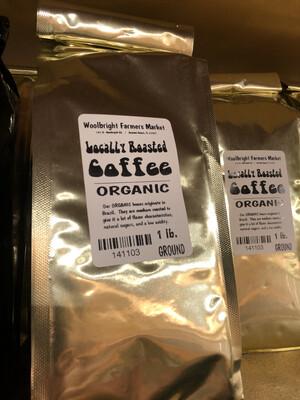 Coffee 1 lb. Ground LOCAL ORGANIC