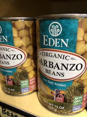 Beans Garbanzo Can 15oz. ORGANIC