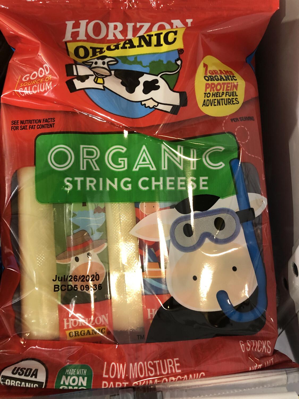 Cheese String Mozz. Horizon ORGANIC