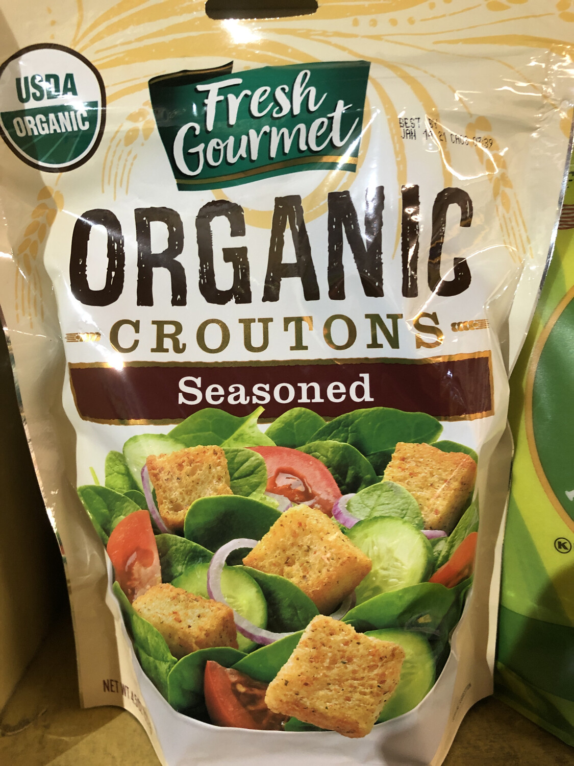 Croutons Seasoned ORGANIC