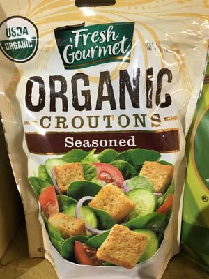 Croutons Seasoned ORGANIC