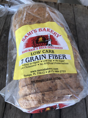 Samis Bread Low Carb 7 Grain