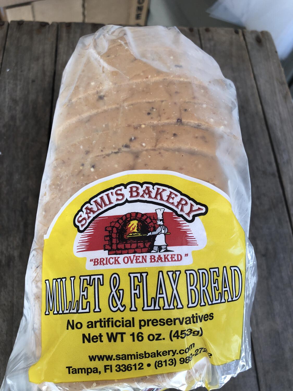 Samis Bread Millet & Flax