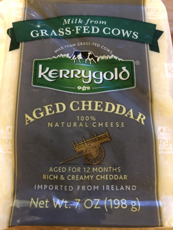 Cheese Cheddar Aged Kerrygold 7oz.