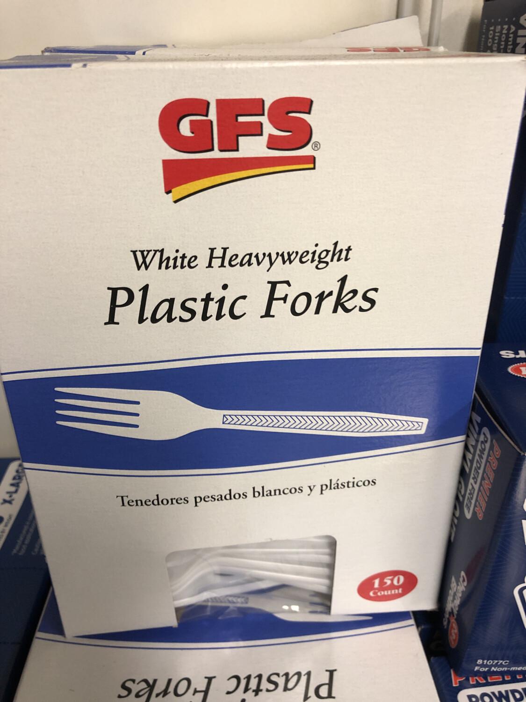 Forks Plastic 150 Ct