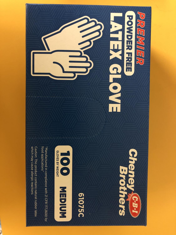 Gloves Latex Medium 100ct