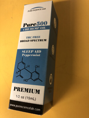 Tincture CBD Pure Science Sleep 500