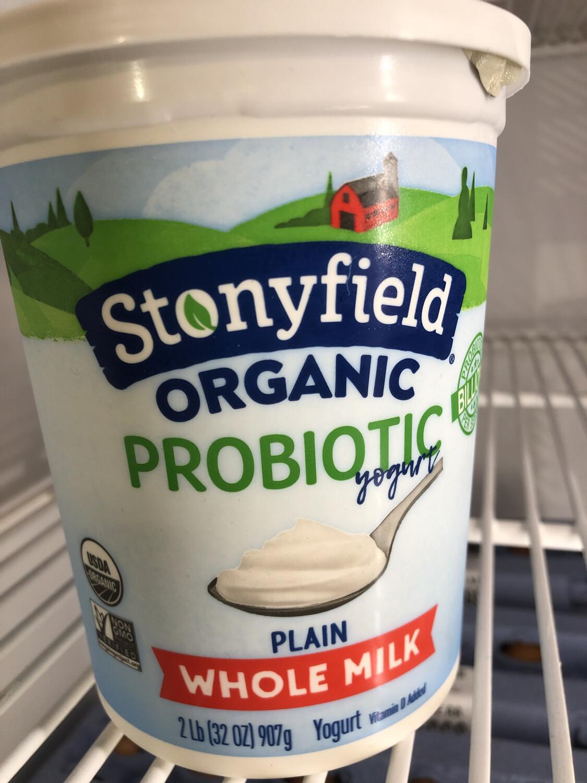 Yogurt ORGANIC 32oz.