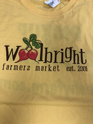 T-Shirt Woolbright Farmers Market Pick up & Delivery