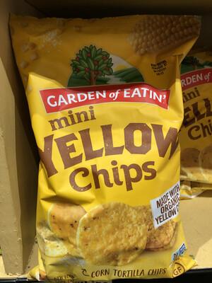 Chips Round Yellow Corn