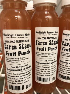 Juice Fruit Punch RAW 10 Oz.