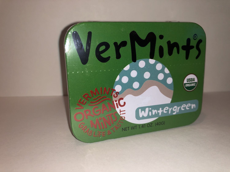 Breath Mints Wintergreen Vermints ORGANIC
