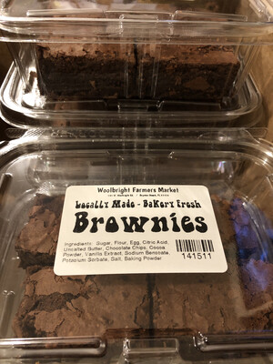 Brownies 4pk LOCAL