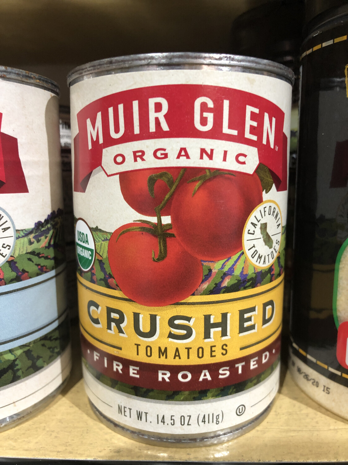 Tomato Crushed Fire Roasted Can 14.5oz. ORGANIC