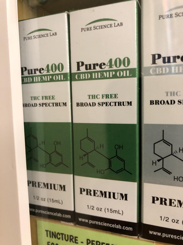 Tincture CBD Pure Science 400