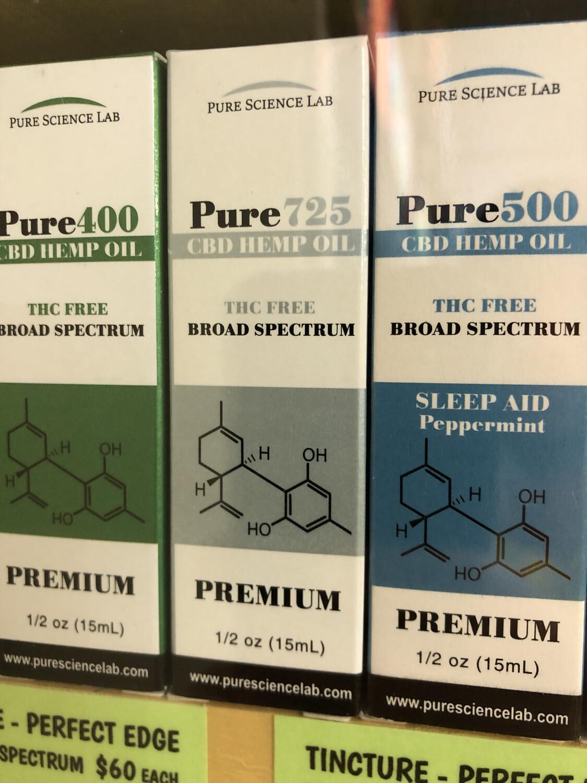Tincture CBD Pure Science 725